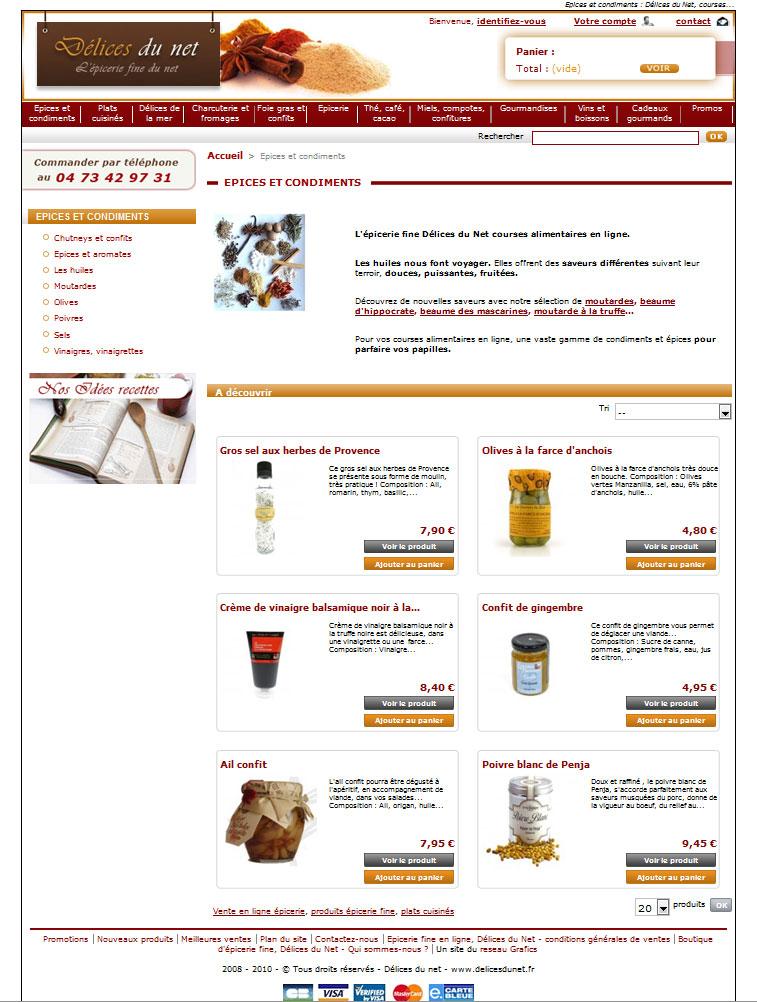 Boutique en ligne d lices du net for Bouquet en ligne