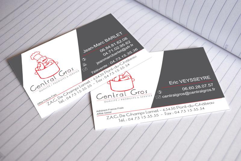 Cartes De Visite Central Gros