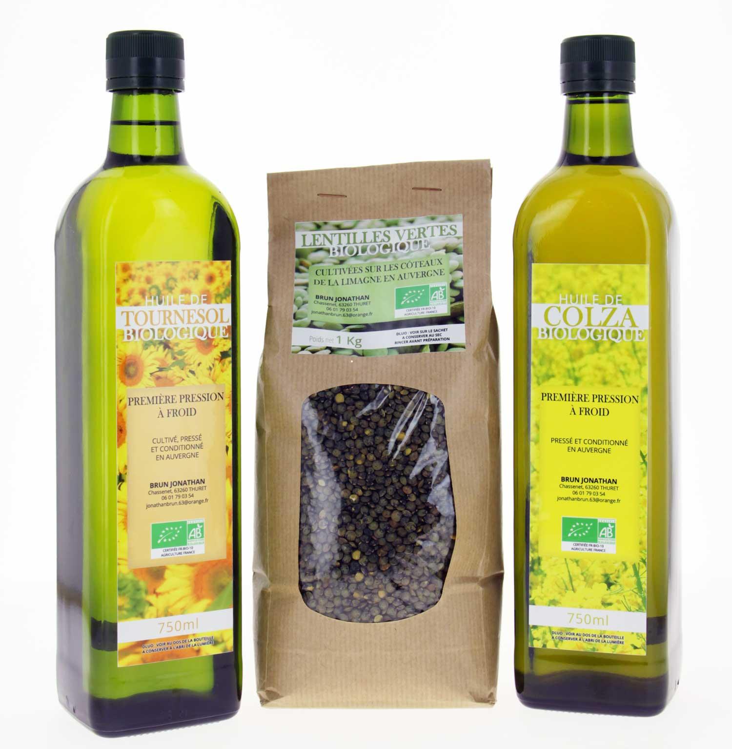 huile colza bio intermarche