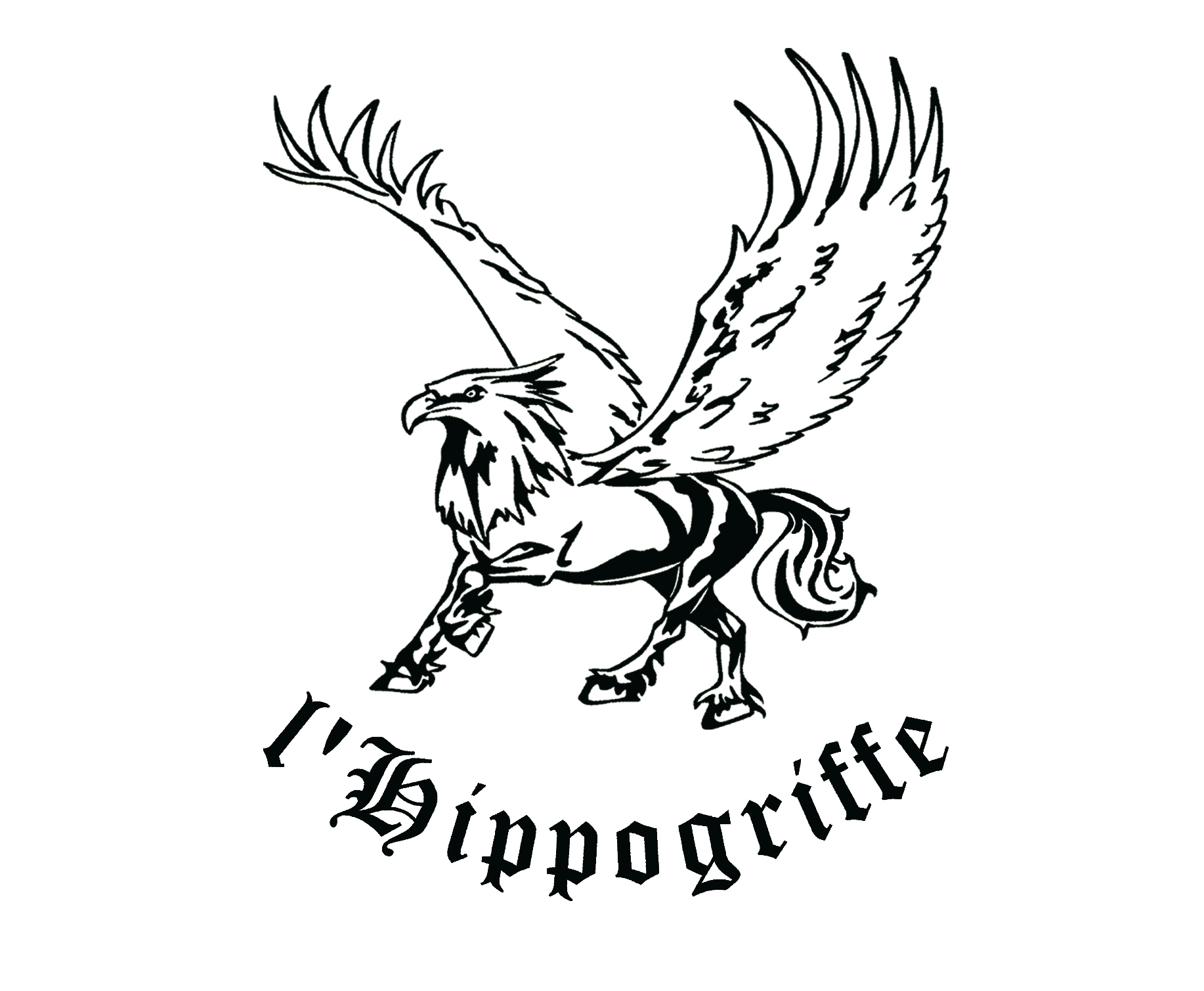 Hippogriffe fauconnerie équestre